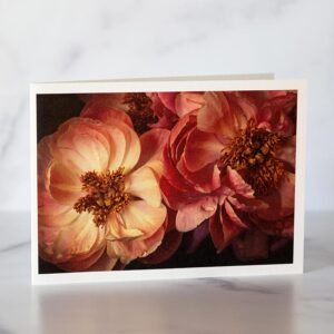 Photo of Pink Peonies Greeting Card