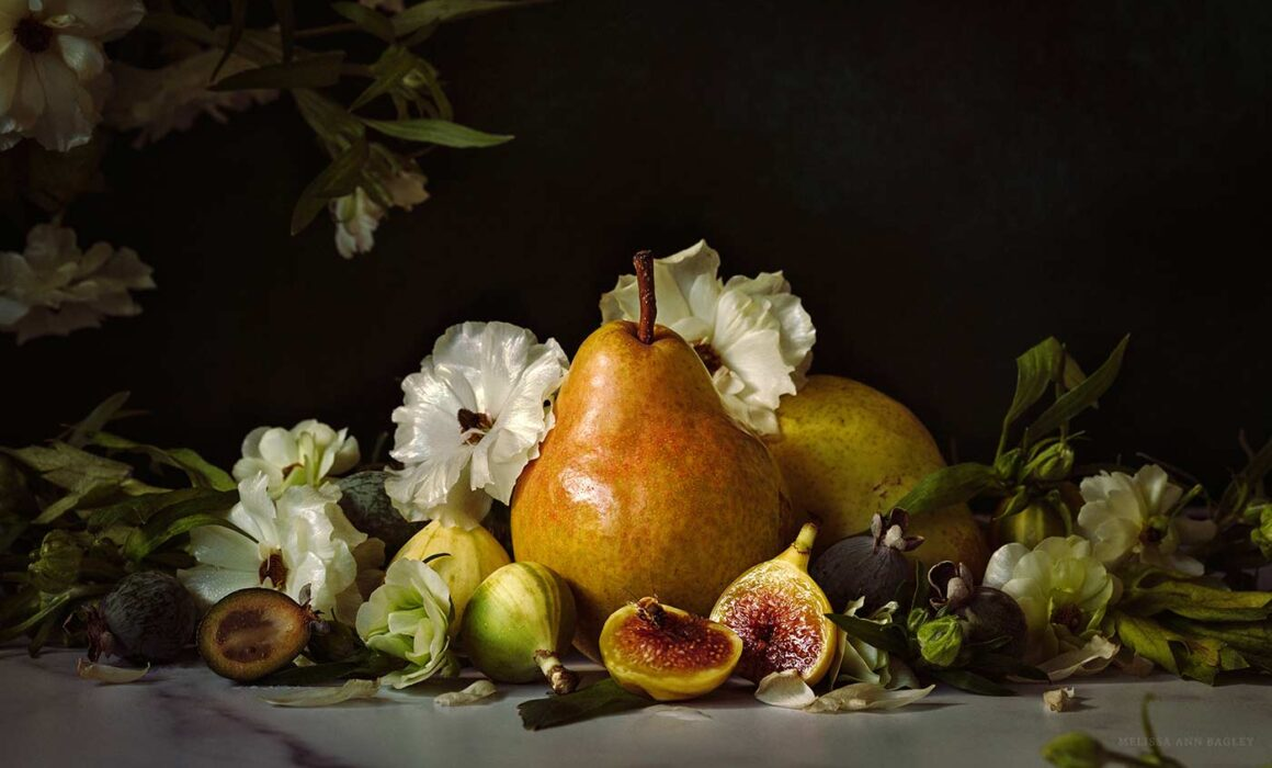 Photo of Pear and Figs by Melissa Bagley