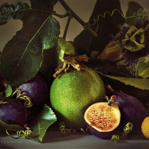 Passion Fruit and Figs Poster