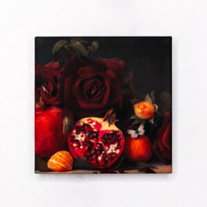 Pomegranate and Roses Magnet