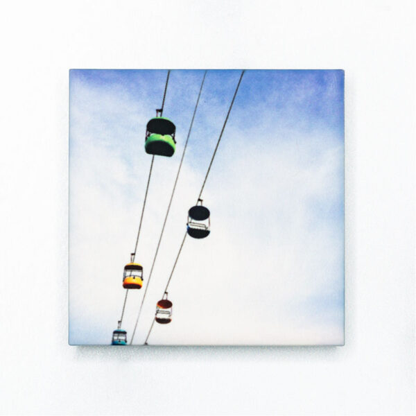 Santa Cruz Beach Boardwalk Sky Glider Magnet