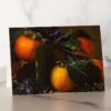 Photo of Fuyu Persimmons Mini Card by Melissa Ann Bagley