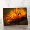 Photo of Yellow Sunflower Mini Card by Melissa Ann Bagley
