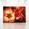 Photo of Pink Peonies Mini Card by Melissa Ann Bagley