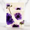 Photo of Purple Anemones Mini Card by Melissa Ann Bagley