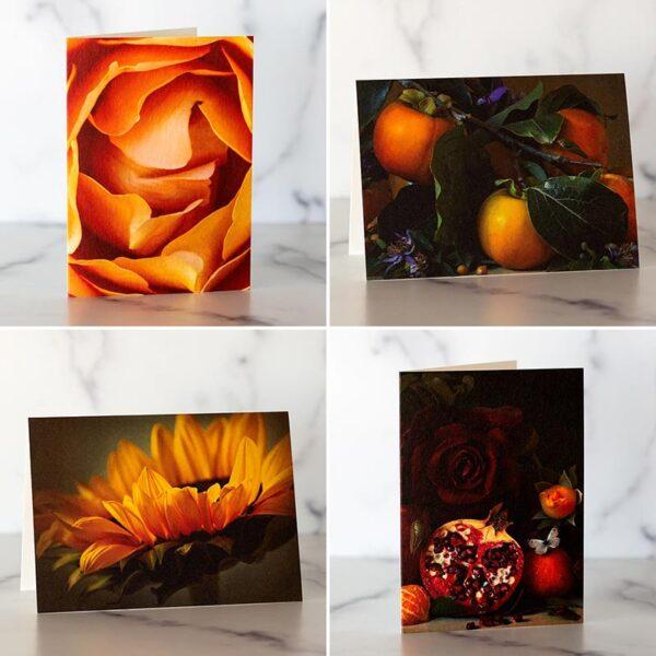 Photo of Orange Mini Card Set by Melissa Ann Bagley