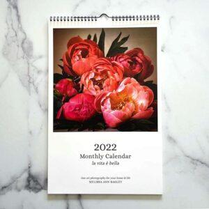 Photo of 2022 Wall Calendar by Melissa Ann Bagley